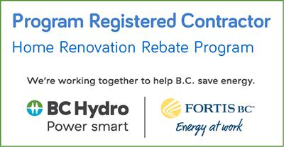 home renovation rebate program logo
