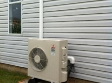 Heat pump outside rancher